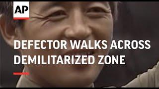 SOUTH KOREA: NORTH KOREAN DEFECTOR WALKS ACROSS DEMILITARIZED ZONE