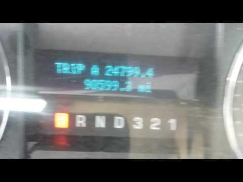 2009 Ford F150 oil reset light bizzarro world