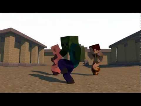 [Minecraft 3D] Dance Animation