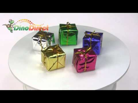 Cute Christmas Tree Ornaments Gift Boxes  from Dinodirect.com