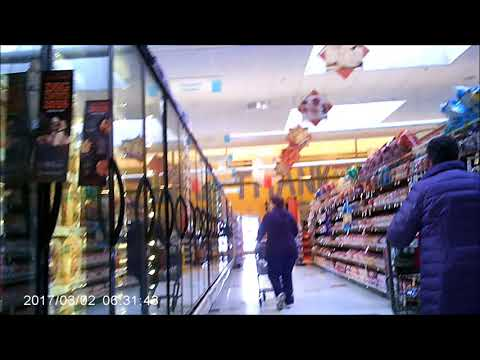 A Trip To Stop N Shop  Using  SQ-8 CUBE CAM