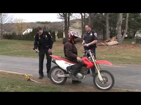 Dirt bike dispute