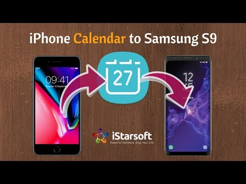 How to Transfer / Switch Calendar from iPhone to Samsung Galaxy S9