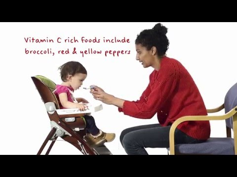 Iron rich foods for babies
