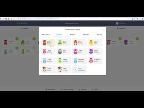 How to use custom avatars in ClassDojo
