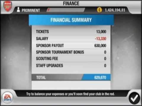 FIFA 12 IOS ...How To Get More Money on FiFa 12 IPHONE