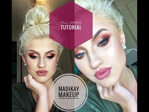Fall Smoke Tutorial and Get Ready with Me! |MadiKay Makeup