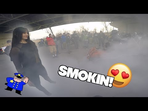 Things Get A Bit Smokey! Grom Ventures. Ep. 38 Cops Won't Leave Us Alone