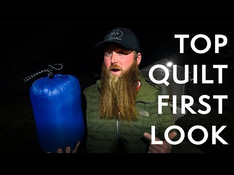 OV TOP QUILT - FIRST LOOK