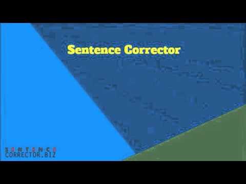 Sentence Corrector for Everyone