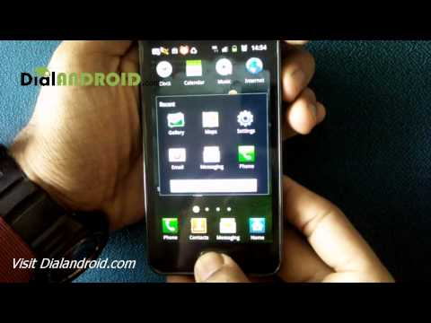 Samsung Galaxy S2 Secret screen capture trick
