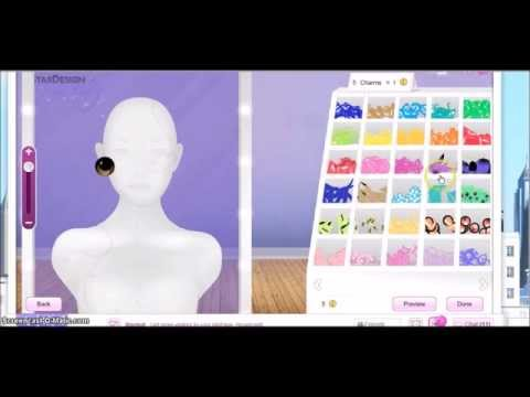 How to Make Contact lenses on Star Doll
