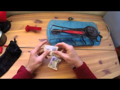 Osprey water bladder and cleaning kit