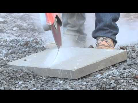 How to Install Belgard Pavers: Step 9 - How to Cut Pavers & Paving Stones