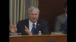 """Rep. Rohrabacher's Q&A on """"Examining the Scientific and Operational Integrity of EPA's IRIS Program"""""""