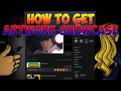 How To Add Artwork Showcase On Steam