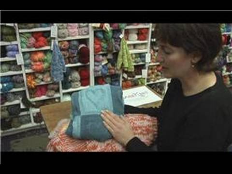 Knitting Tips : How to Knit a Baby Blanket