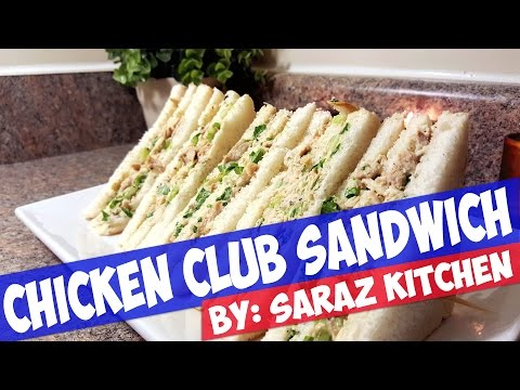 Club Sandwich: Chicken And Egg Sandwich Homemade Easy Recipe