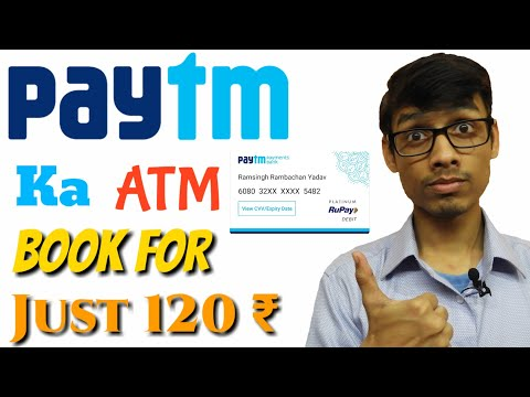 Book your Paytm physical debit card