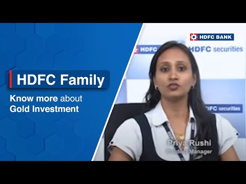 Did you know Gold ETF's invest in 99.5% purity gold. Know more with HDFC securities