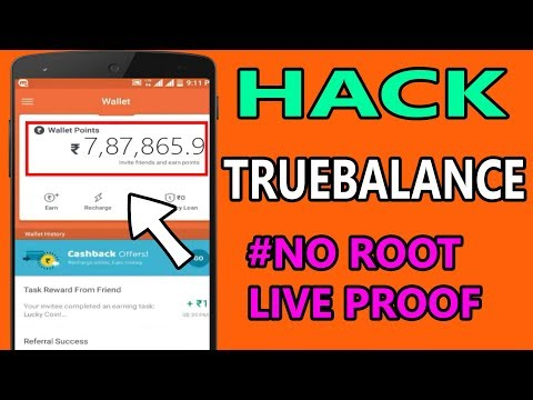 How to hack true balance app without root || Earn unlimited free recharge Hindi 2017