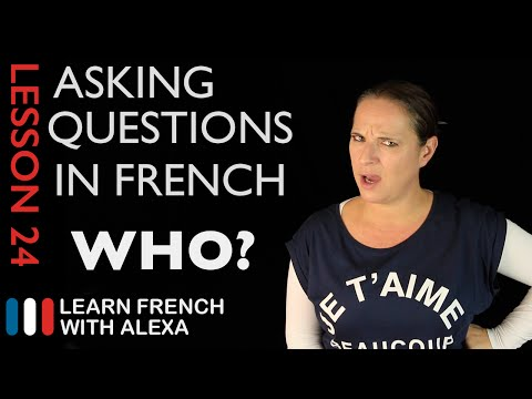 Xxx Mp4 Asking WHO Questions In French With QUI French Essentials Lesson 24 3gp Sex