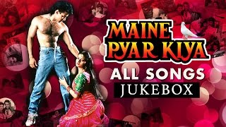 MAINE PYAR KIYA JUKEBOX (HD) | SALMAN KHAN | BEST HINDI SONGS COLLECTION | FULL VIDEO SONGS JUKEBOX