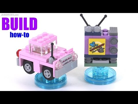 Build with me: LEGO Dimensions Homer Simpsons car & TV