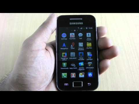 Take Screenshots in Samsung Galaxy Ace 2.3.6 without rooting