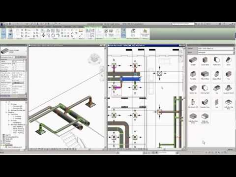 Revit 2017: Filling the Gaps with Route and Fill