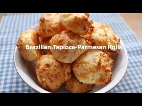 Recipe: Gluten-free Brazilian Tapioca-Parmesan Rolls (Pao de Queijo)