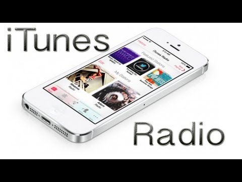 iTunes Radio Demo - iOS 7