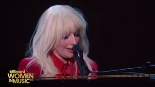 Lady Gaga Til It Happens To You performance Billboard Women in Music