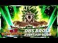 F2P Guide DBS SSJ Broly Dokkan Event Super2 25 STA DBZ Dokkan Battle