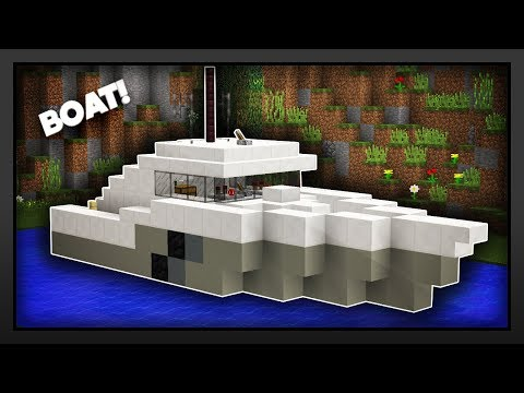 Minecraft - How To Make A Boat