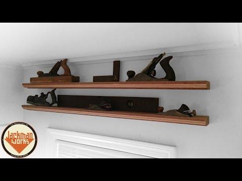Simple Floating Display Shelves