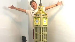 Building Big Ben with Lego Bricks!