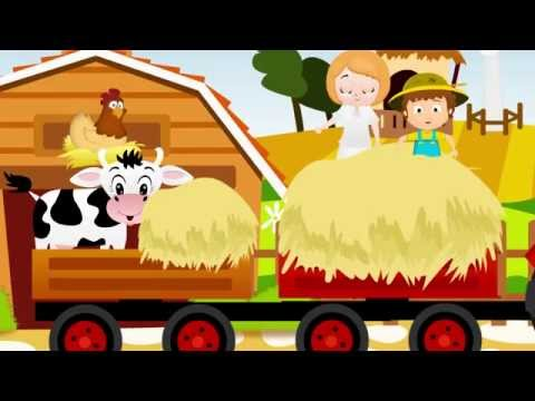 THE FARMER IN THE DELL | Nursery Rhyme Express | Animation | Sing Along | Childrens Song