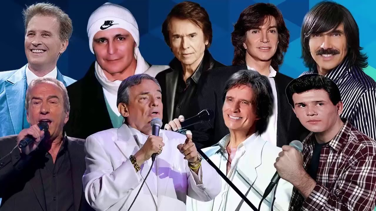 Camilo Sesto, Leo Dan, Perales, Roberto Carlos, Emmanuel, Raphael, Leonardo Favio, Jose Jose,  y mas