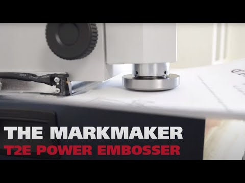 Power Embosser to Seal Diplomas, Certificates & Legal Documents