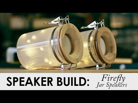 Firefly Jar Bluetooth Speakers || Holiday DIY Speaker Build
