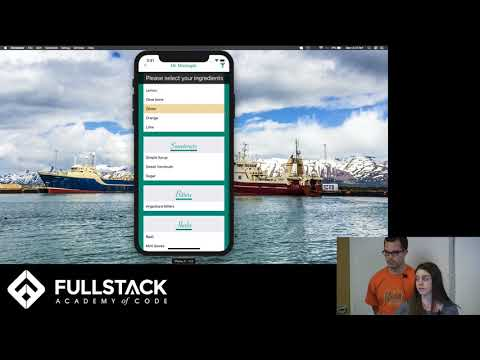 Stackathon Presentation: Mr. Mixologist