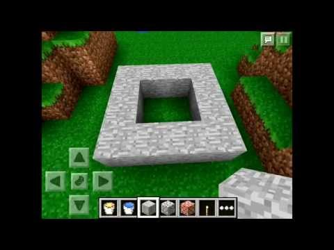 Minecraft pe how to make the best cobble stone generator