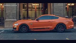 "Retro-Inspired 2020 MUSTANG Shelby Super Snake ""Bold Package"""