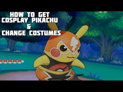 Pokémon Omega Ruby and Alpha Sapphire - How To Get Cosplay Pikachu + Change Costumes