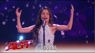 Download Emanne Beasha: 10-Year-Old With SHOCKING Voice Final Performance! | America's Got Talent 2019 Video