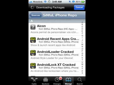 How to Download app sync for iOS 5.1.1 (cydia)