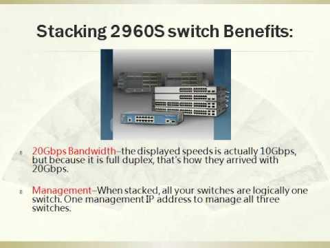How to FlexStack Cisco 2960-S Switches