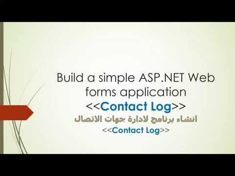 01. Build simple ASP.NET Web forms application