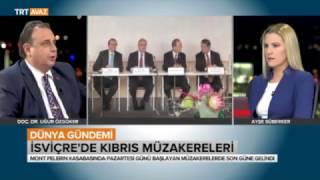 İsviçre'de Kıbrıs Müzakereleri – 11 Kasım 2016